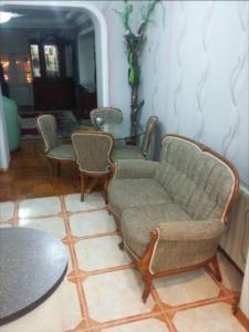 Uma área de estar em Apartament on Mirzaaga Aliyev 138