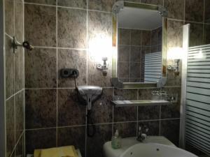 A bathroom at Hotel il Mulino