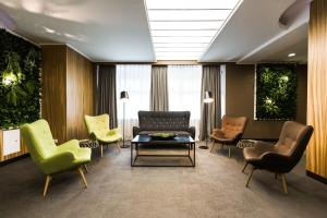 A seating area at Boutique Hotel Khabarovsk City