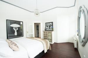 Ein Bett oder Betten in einem Zimmer der Unterkunft Kastell3