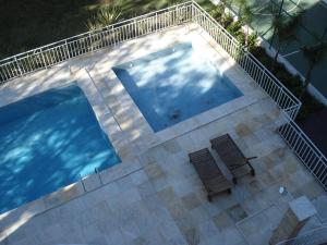 A view of the pool at Apartamento Cristal or nearby