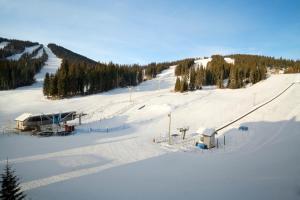 Coast Sundance Lodge during the winter