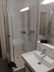 Ein Badezimmer in der Unterkunft Stopoase