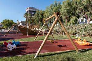 Children's play area at Hotel Eden