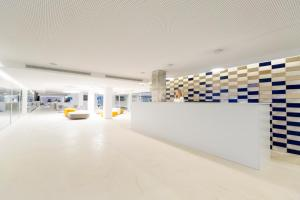 The lobby or reception area at Ebano Hotel Apartments & Spa