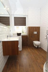Łazienka w obiekcie Apartamenty Świnoujście - Słowackiego