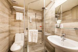 ホテル ファン リンセンにあるバスルーム