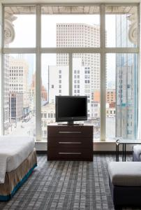 A television and/or entertainment center at Residence Inn Milwaukee Downtown