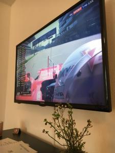 TV/Unterhaltungsangebot in der Unterkunft Apartments Talblick