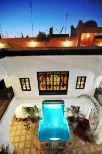 A view of the pool at Riad Asna or nearby
