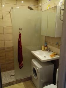 Ванная комната в Апартаменты на Цветочной 3