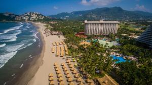 A bird's-eye view of Princess Mundo Imperial Riviera Diamante Acapulco