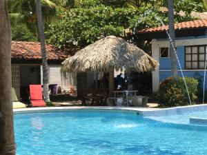 The swimming pool at or near Coco Blue Resort
