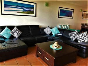 A seating area at Compass Point 8