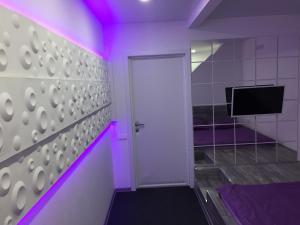 A bathroom at Ультрафиолет Отель Некрасовка