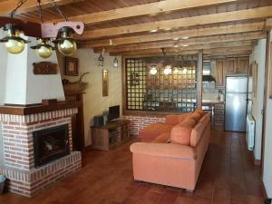 Zona de estar de Casa Rural El Castaño