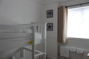 A bunk bed or bunk beds in a room at The Westby