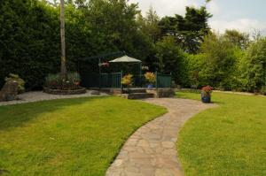A garden outside Killererin House B&B