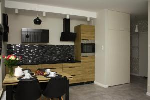Kuchnia lub aneks kuchenny w obiekcie Apartament di Mare
