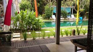 The swimming pool at or near Aquaria Eco Resort