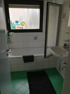 Ein Badezimmer in der Unterkunft Apartment near Stuttgart Messe / Trade Centre