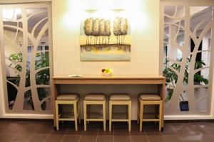 The lobby or reception area at Microtel Inn & Suites by Wyndham - Penn Yan