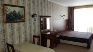 Ein Bett oder Betten in einem Zimmer der Unterkunft Private Studio 1st line