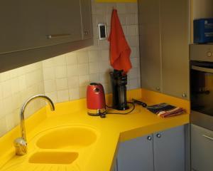 Kuhinja ili čajna kuhinja u objektu Apartment Veseli