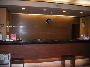 The lobby or reception area at Hotel Route-Inn Sanofujioka Inter