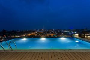 The swimming pool at or near Hotel Mulberry