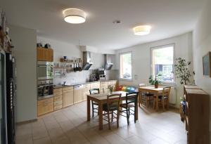 Küche/Küchenzeile in der Unterkunft Greencity Boardinghouse