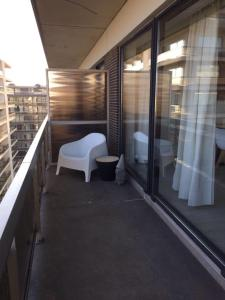 A balcony or terrace at Wellington F7