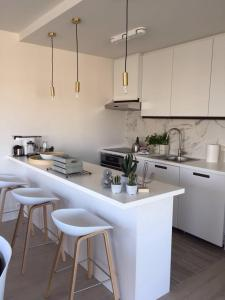 A kitchen or kitchenette at Wellington F7