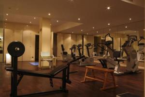 The fitness center and/or fitness facilities at Grand Hotel Delle Terme Re Ferdinando