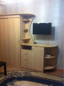 A television and/or entertainment center at Apartments