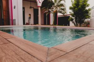 The swimming pool at or near Hotel Gran Centenario
