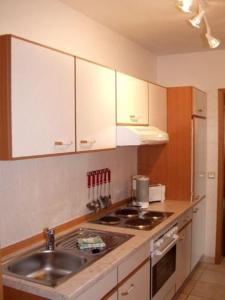 Küche/Küchenzeile in der Unterkunft Aparthotel HAUS USEDOM