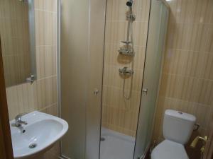 Ein Badezimmer in der Unterkunft Dom 18