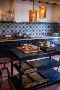 Villa La Salina廚房或簡易廚房