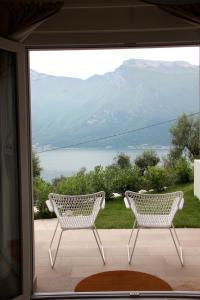 A balcony or terrace at Oliveto B&B