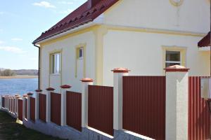 Балкон или терраса в Holiday Home Priozerniy