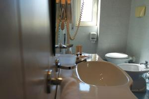 A bathroom at Sait Hotel & BB