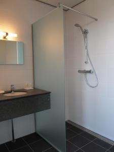 Een badkamer bij Het Turfschip Etten-Leur