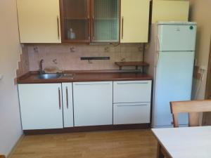 A kitchen or kitchenette at ApartmentHouse