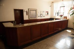 The lobby or reception area at Real Palace Hotel