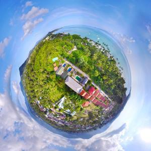 Blick auf Ampha Place aus der Vogelperspektive