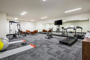 The fitness center and/or fitness facilities at Quest Chatswood