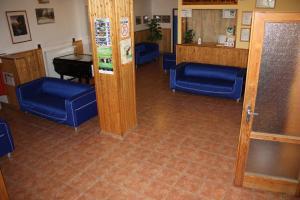 The lobby or reception area at Sporthotel BK Pod Lipou