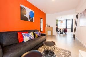 Гостиная зона в Smartflats City - Saint-Gangulphe