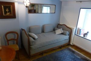 Un ou plusieurs lits dans un hébergement de l'établissement La Claverie